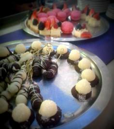 Los chocolates con los que nos consintieron.