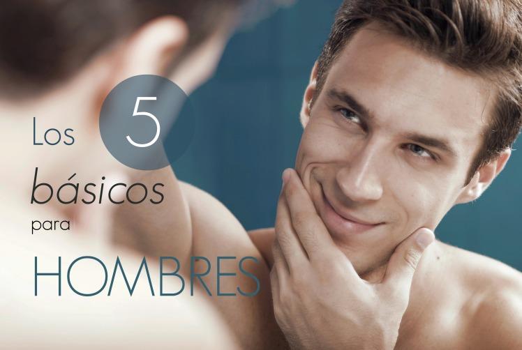 Los 5 básicos para hombre