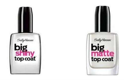 Sally Hansen Big Shiny Big Matte Top Coat