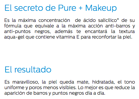 Pure + Makeup
