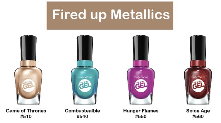 Fired up Metallics