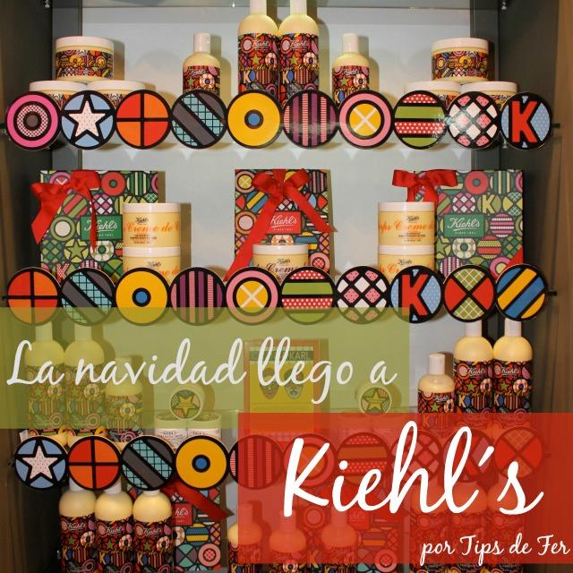 La navidad llega a Kiehls