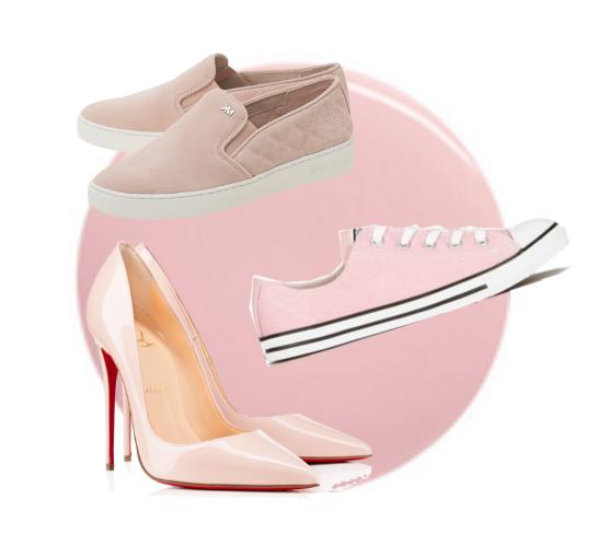 zapatos rose