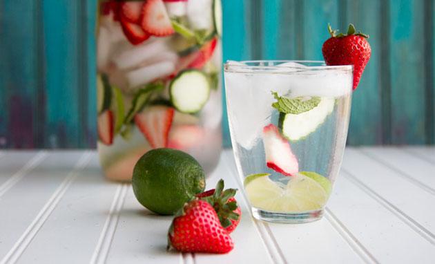 strawberry-cucmber-mint